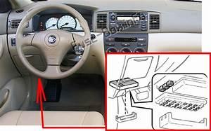 2007 Toyota Corolla Fuse Box Diagram