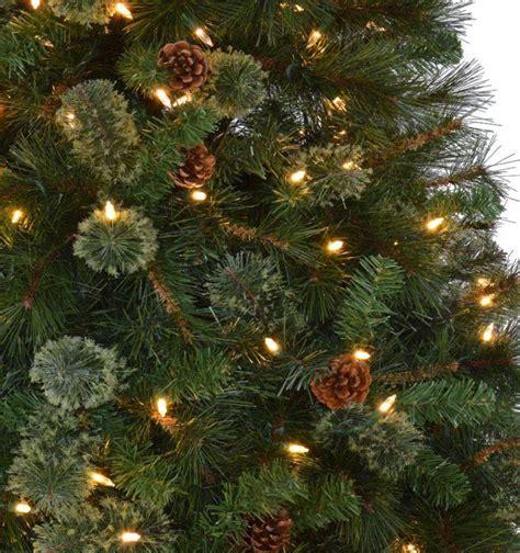martha stewart white christmas tree martha stewart living 7 5 ft pre lit led pine 8796