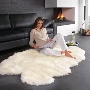 Schaffell Teppich Groß : lammfell teppich 160 x 100 cm gro und sogar maschinenwaschbar ~ Markanthonyermac.com Haus und Dekorationen