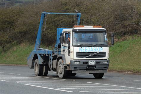 volvo lorries volvo skip lorry pn04bpz fryske flickr