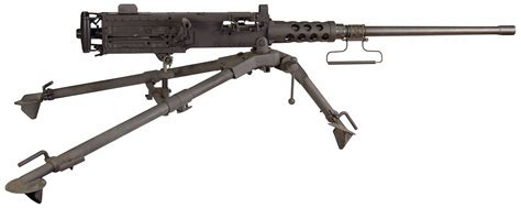 Browning M2 Machine Gun Used In The Movie 'the Jackal