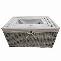 storage with baskets Furniture : Wicker Storage Basket Ideas to Make Your Room ...