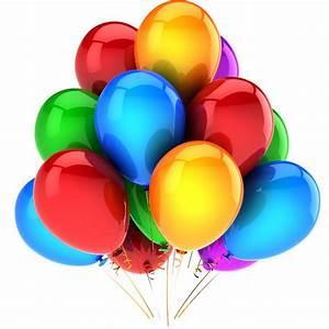 Globos de cumpleaños png Imagui