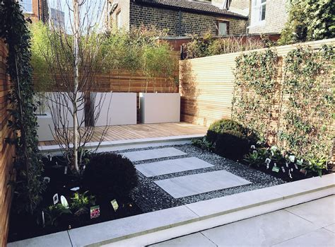 courtyard garden design clapham balham battersea london