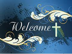 Christian Welcome Backgrounds