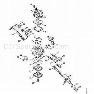 Stihl Ms 181 Chainsaw  Ms181cbe2mix  Parts Diagram  Carburetor C1q