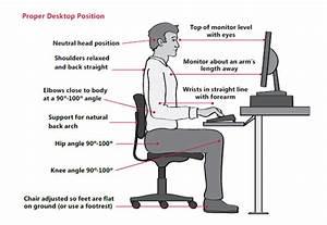 Advice  U2013 Desk Ergonomics