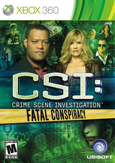 Csi Fatal Conspiracy Xbox 360 Game