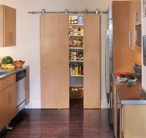 sliding kitchen storage a diversity of door styles to hide your pantry with 2319