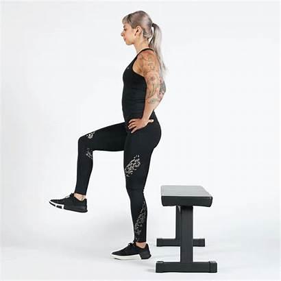 Leg Single Exercises Box Bodyweight Squat Squats