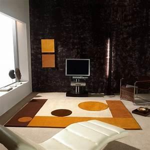 Un tapis contemporain pour une ambiance design for Tapis contemporain luxe