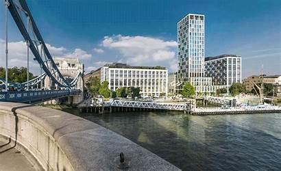 Tower Bridge Redevelopment Study Landscape Framework Proposed