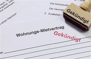 Gründe Für Wohnungskündigung : mietvertrag rechtswirksam k ndigen ~ Lizthompson.info Haus und Dekorationen
