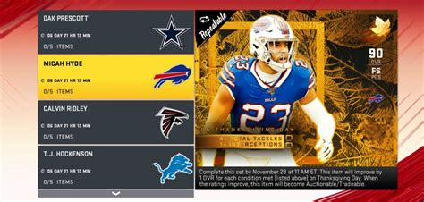 Play it all this fall! Madden NFL 20 MUT: Harvest Card Upgrade Info - Operation Sports