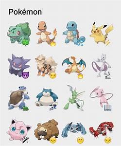 pokemon stickers set