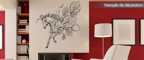 restaurant chambre d amour stickers cheval design sticker mural deco