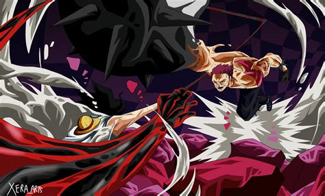 luffy  katakuri desktop wallpapers wallpaper cave