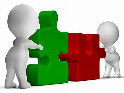 Relationship Jigsaw Building Successful Between Pieces Teamwork