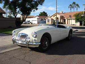 Desert Classic Mustangs - 1956 MGA SOLD