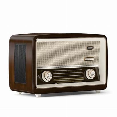 Radio Antique 3d Models Obj Cgtrader Furniture
