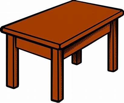 Table Pixabay Furniture Wooden Vector