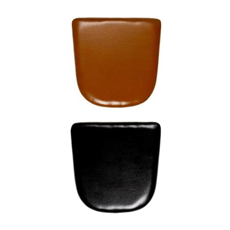 galette de chaise cuir leather seat pads for tolix style chairs cult furniture