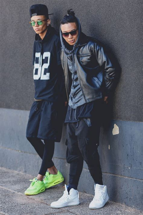 Fashion Street Style Outfit Clothing Sneakers Streetwear