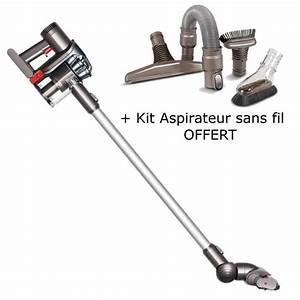 Dyson Aspirateur Sans Fil : aspirateur balai dyson dc45 kit aspirateur sans fil ~ Dallasstarsshop.com Idées de Décoration