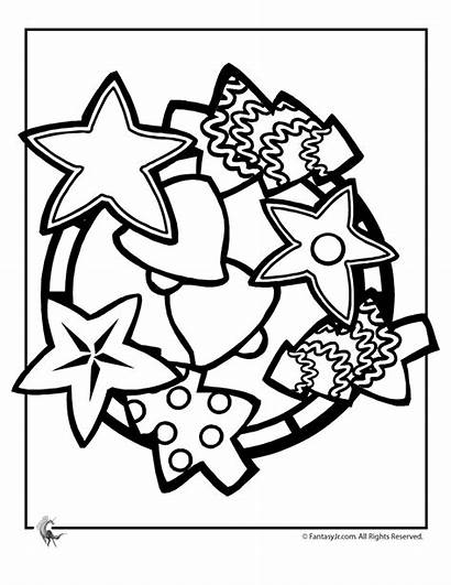 Coloring Cookies Christmas Pages Treats Cookie Printable