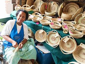 The Unique Lowcountry Art Of Sweetgrass Basket Weaving