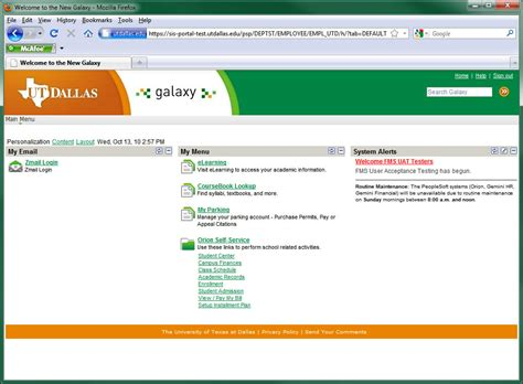 utd elearning help desk new galaxy created at ut dallas the overture