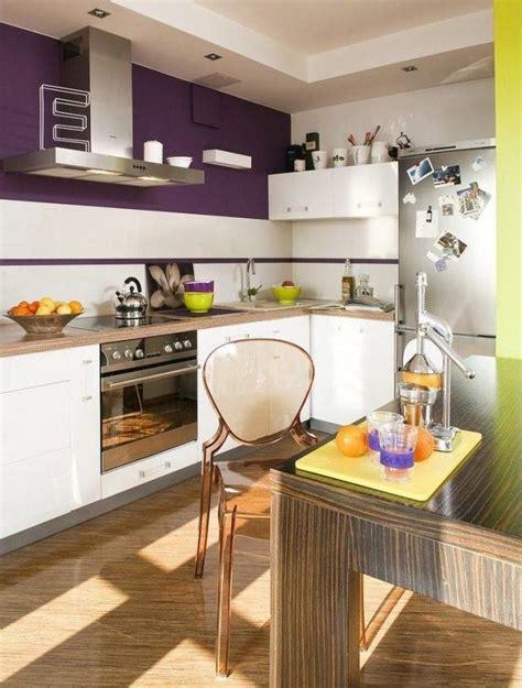 cuisine pourpre ide de couleur pour cuisine superior idee meuble