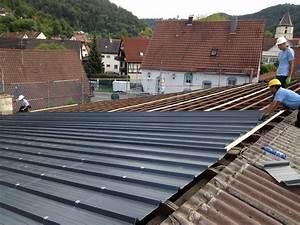 Estrichplatten Mit Dämmung : blechdach mit d mmung if45 hitoiro ~ Michelbontemps.com Haus und Dekorationen
