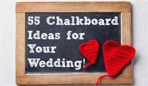55 Chalkboard Ideas For Your Wedding