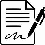 Icon Contract Signing Forms Svg Sign Form