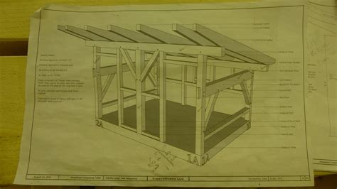 post  beam composting outhouse