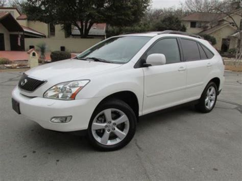 Find Used 2006 Lexus Rx330 Suv Leather Power Sunroof