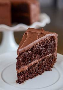 Easy Chocolate Cake with Homemade Buttercream Frosting ...