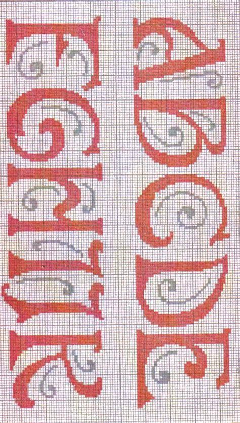 stickvorlage alphabet bastelfrau