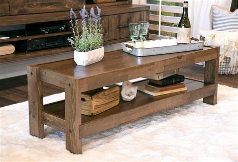 So pull out your tools and gather your lumber! 30 Best DIY Rustic Farmhouse Table Decoration Ideas | Rustic farmhouse table, Rustic coffee ...