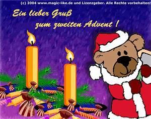 Grüße Zum 2 Advent Lustig : 2 advent bilder 2 advent gb pics seite 7 gbpicsonline ~ Haus.voiturepedia.club Haus und Dekorationen