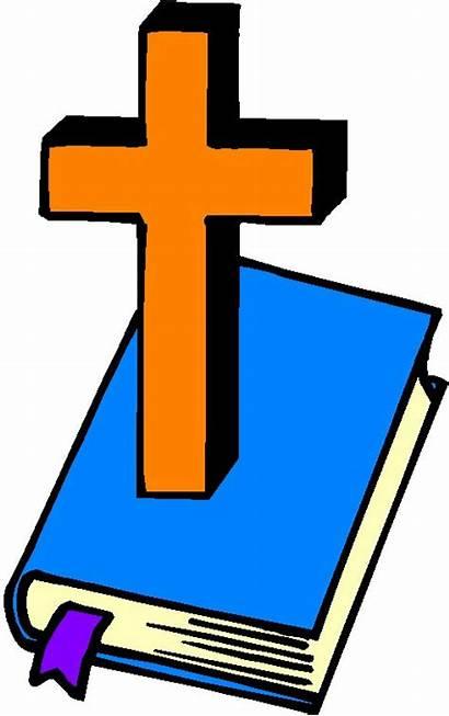 Church Clipart Clip Bible Cross Powerpoint