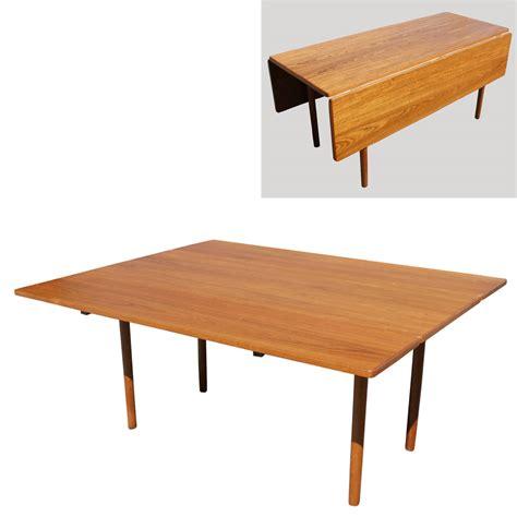 mid century modern table ls danish mid century modern drop leaf dining table ebay