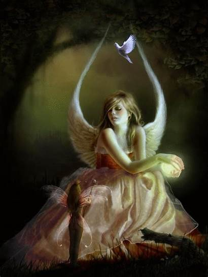 Fantasy Fairy Elfes Fees Gifs Centerblog Angels