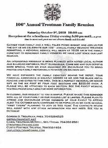 printable example of family reunion program click here With examples of family reunion invitation letter
