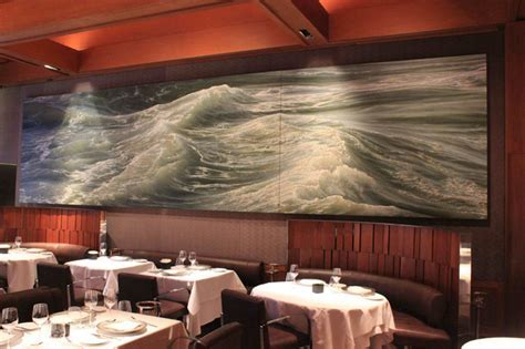The Story of Le Bernardin's 24 Foot Seascape Painting