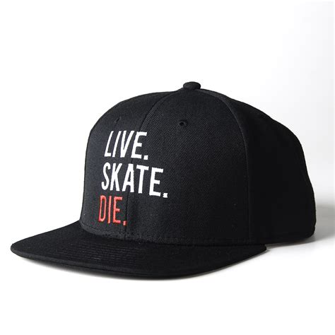 Revive Skateboard Decks Australia by Live Skate Die Black Snap Back Hat On Storenvy