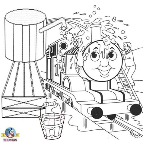 thomas  train coloring pages  kids printable