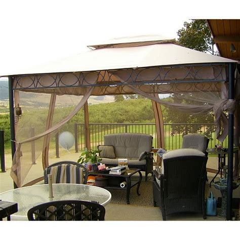 Patio Canopy Home Depot by Home Depot Southern Patio Gazebo Replacement Canopy Items In