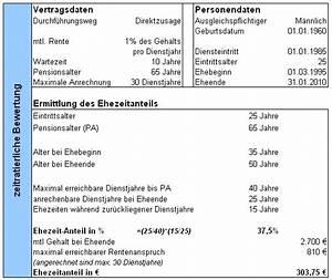 Teilung Berechnen : faqs zum versorgungsausgleich ~ Themetempest.com Abrechnung